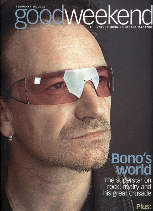U2 -Magazine GoodWeekend -18 Février 2006