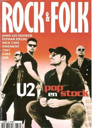 U2 -Magazine Rock &amp&#x3B; Folk  -Avril 1997