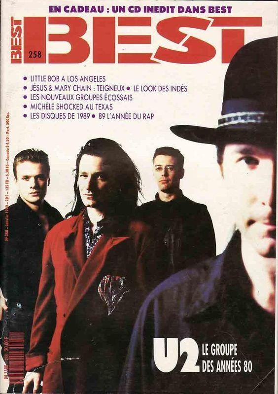 U2 -Magazine Best -n°258 -Janvier 1990