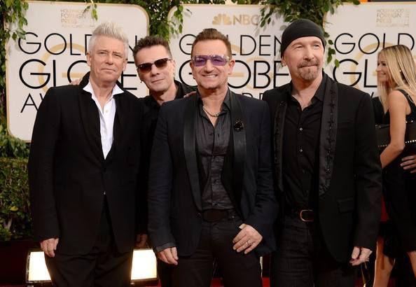 U2 - 71e édition des Golden Globe Awards 12/01/2014