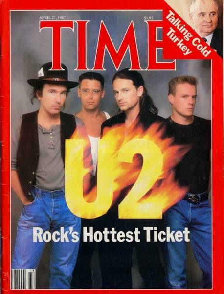 U2 -Magazine Time -27-Avril 1987