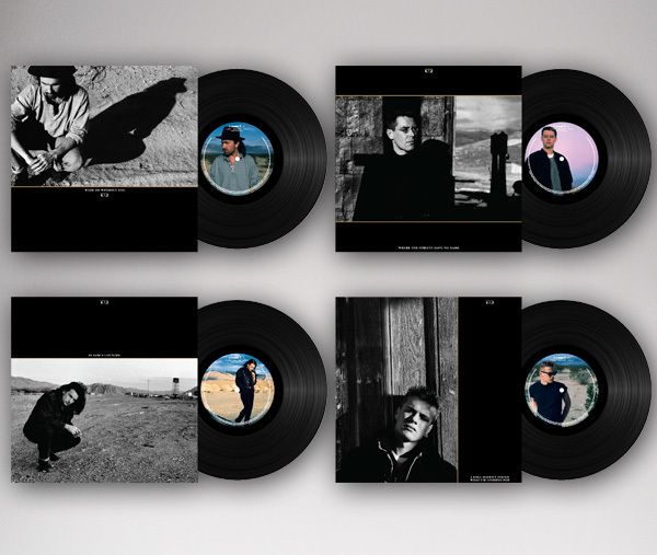 'THE JOSHUA TREE SINGLES VINYL COLLECTION: 1987 &amp&#x3B; 2017'