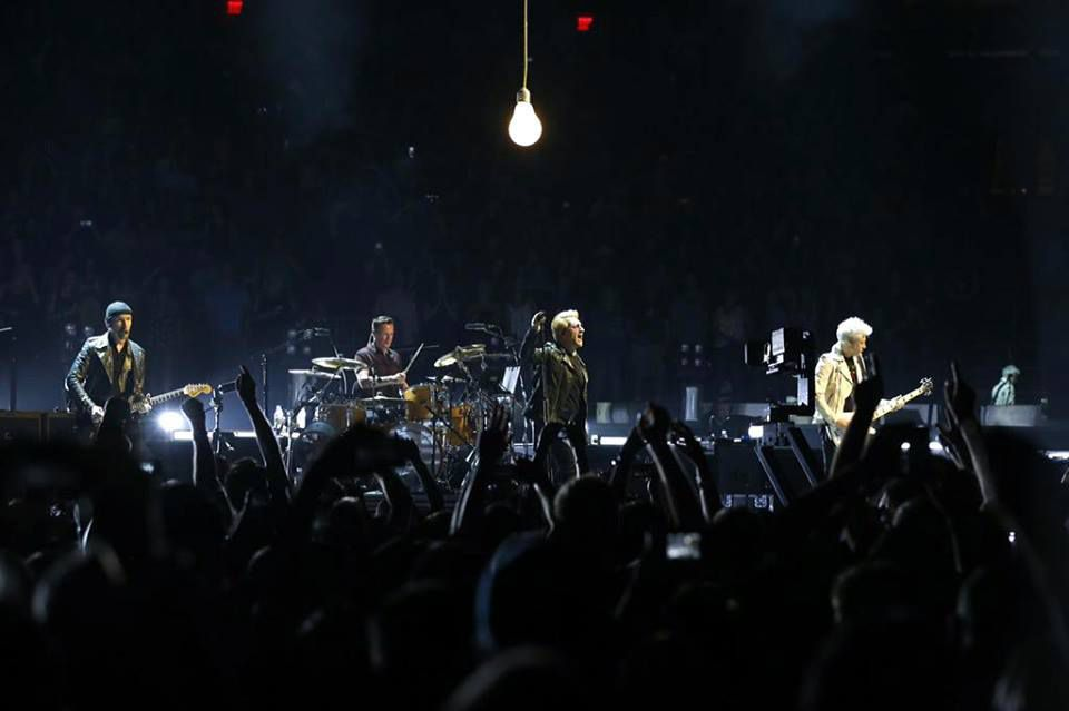 U2 New-York (2) ,Madison Square Garden 19/07/2015