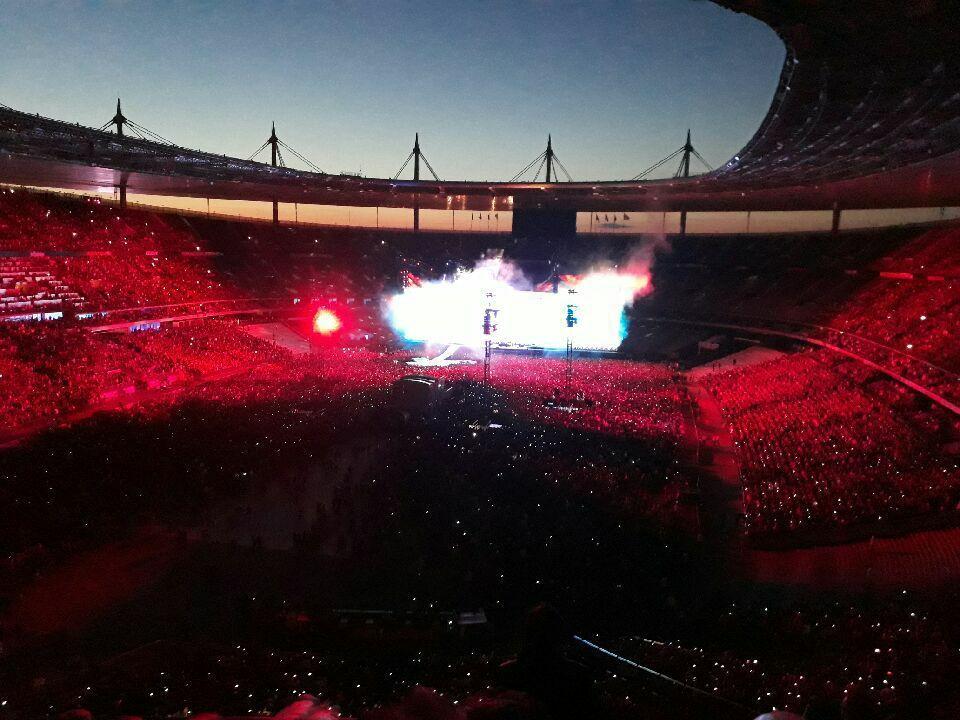 Premier de ses deux concerts au stade de France depuis le 6 et 7 décembre 2015.