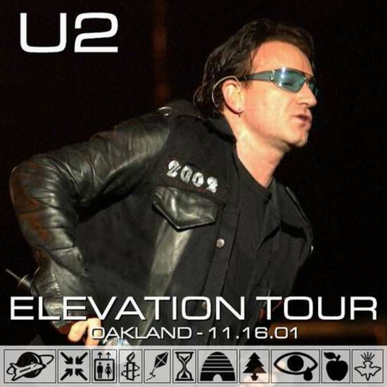 Elevation Tour: Oakland Arena - Oakland, California, USA
