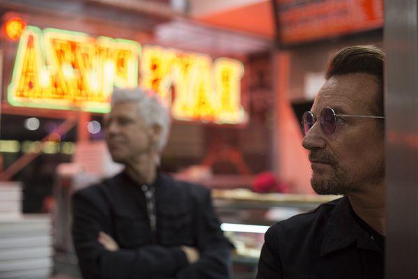U2 dans les rues de New -York 07-09-2017