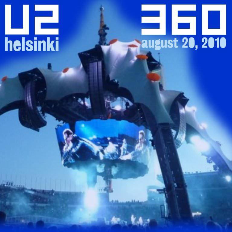 La dernière prestation de U2 en Finlance remontait au 9 août 1997 (Popmart), toujours à l'Olympic Stadium. North Star a été jouée pour la deuxième fois de la tournée.