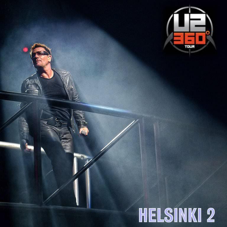 U2 -360° Tour-Helsinki Finlande (2) 21/08/2010