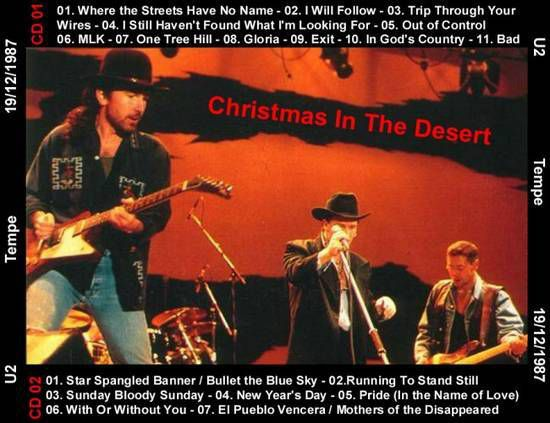 U2 -Joshua Tree Tour -19/12/1987 -Tempe USA -Sun Devil