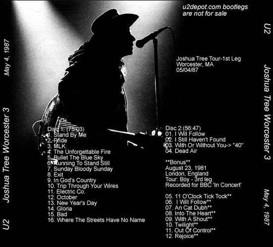 U2 Bootlegs