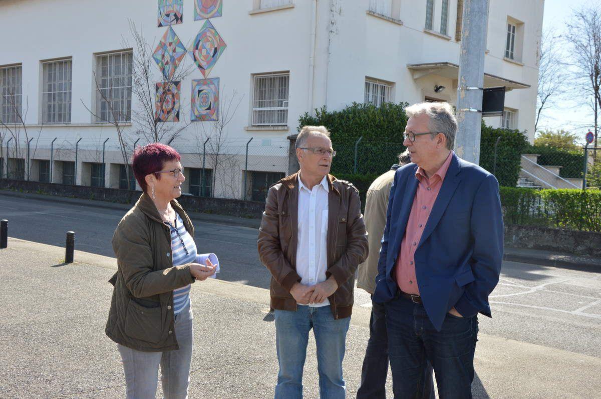 Retour sur la visite de Pierre Laurent à Vaulx-en-Velin Sud (TASE et Soie)
