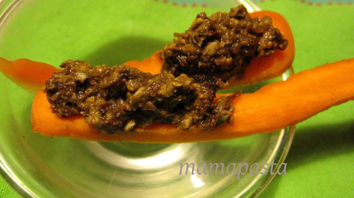 pâté végétal cru tournesol chanvre tomates