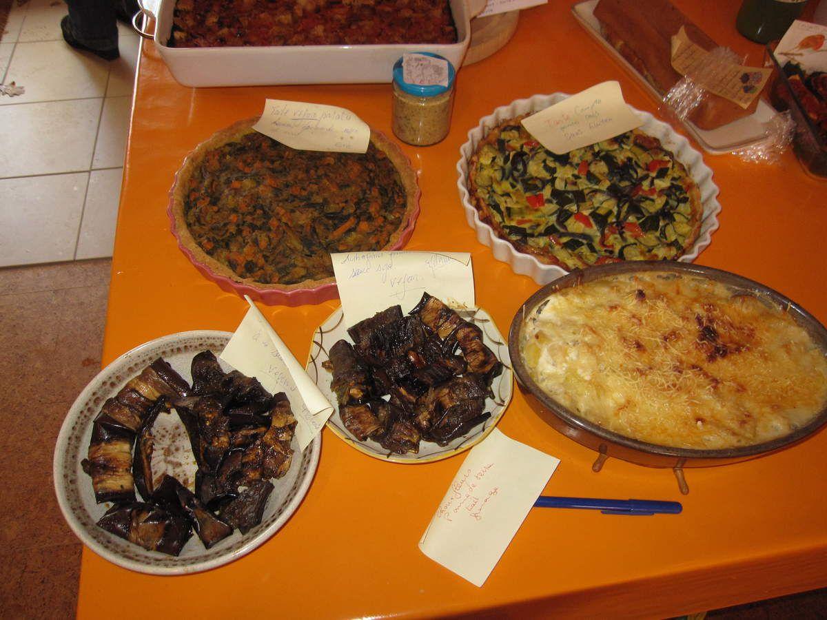 une fois sur le buffet de l'AVF à Damvix