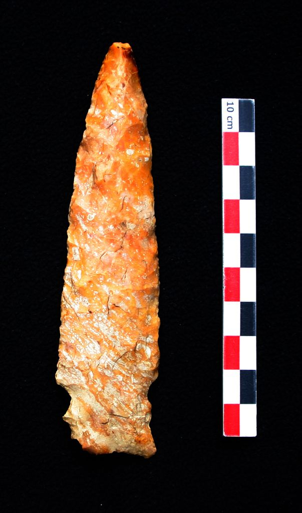 Pointe Amérindienne du type Chesterfield /CHESTERFIELD MISSOURI SIDENOTCH ARROWHEAD NATIVE AMERICAN INDIAN