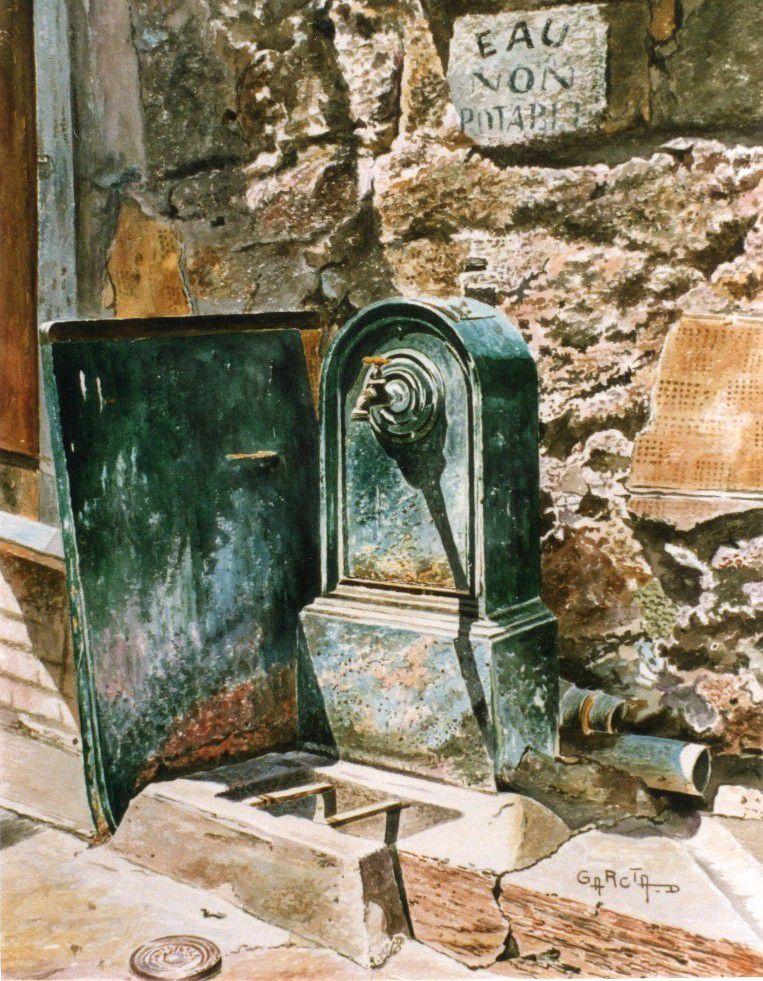 Borne fontaine -Place Jean JAURES-
