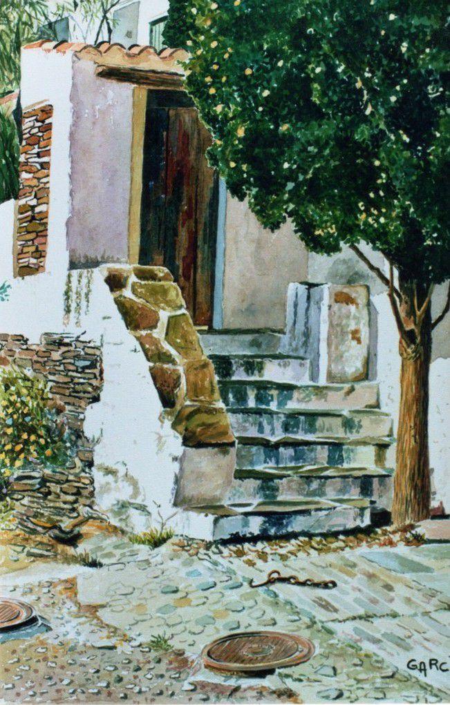 L'escalier -Maison de DALI-