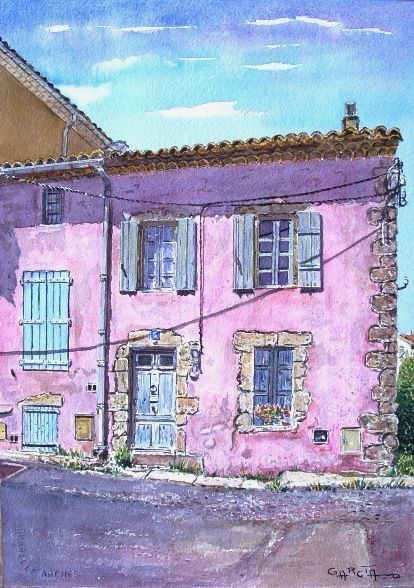 Album portraits de maisons le blog de didier garcia - Eugenie les bains la maison rose ...