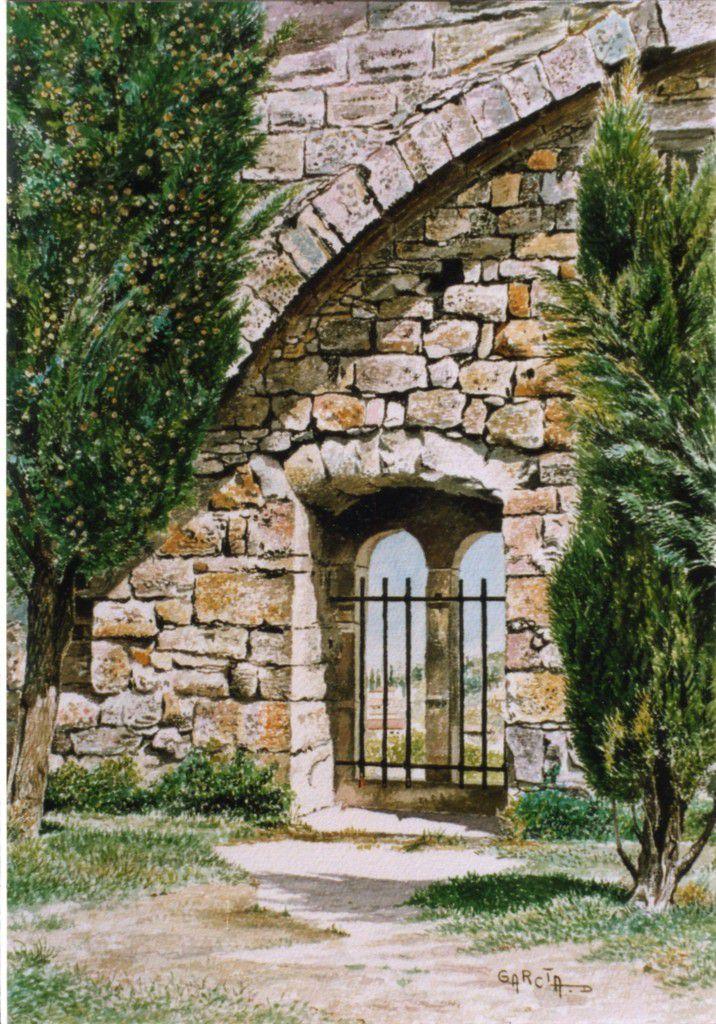Fenêtre Tour du Sacraire de Saint Sernin