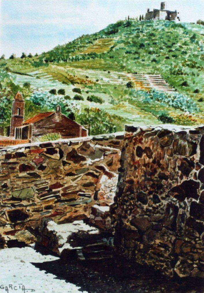 La Tour Saint ELME vue du Château