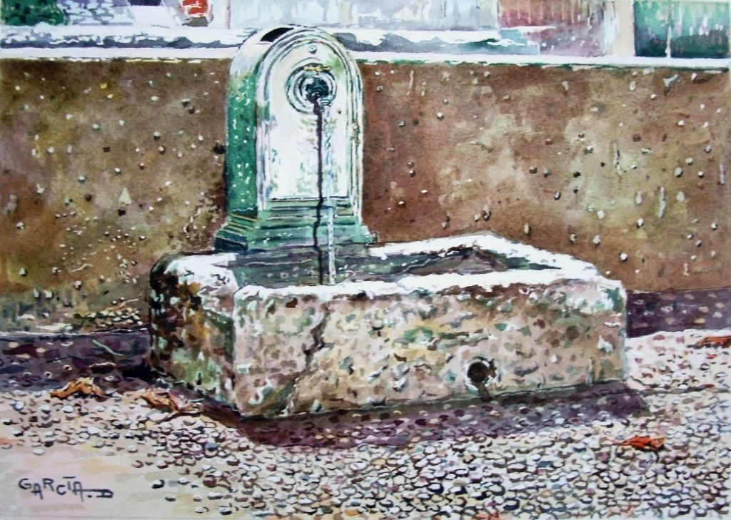 Fontaine Square Fernand VIDAL -CAPESTANG-