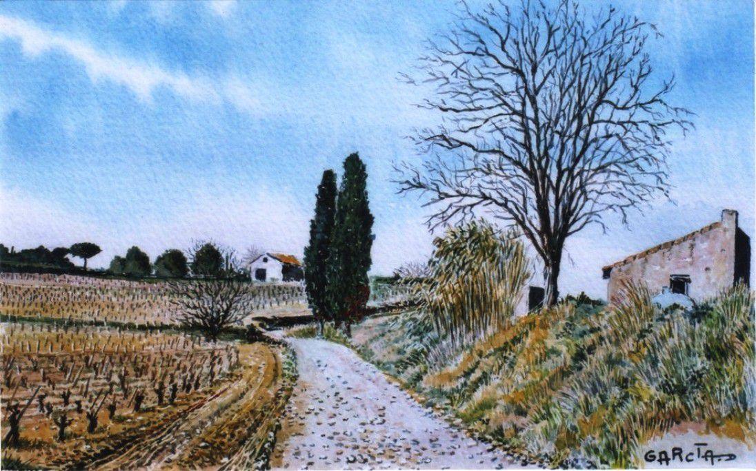 Sur le chemin de la Bastide Neuve
