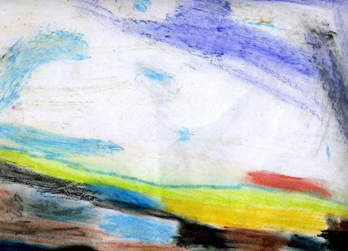 d'après Courbet (pastel)