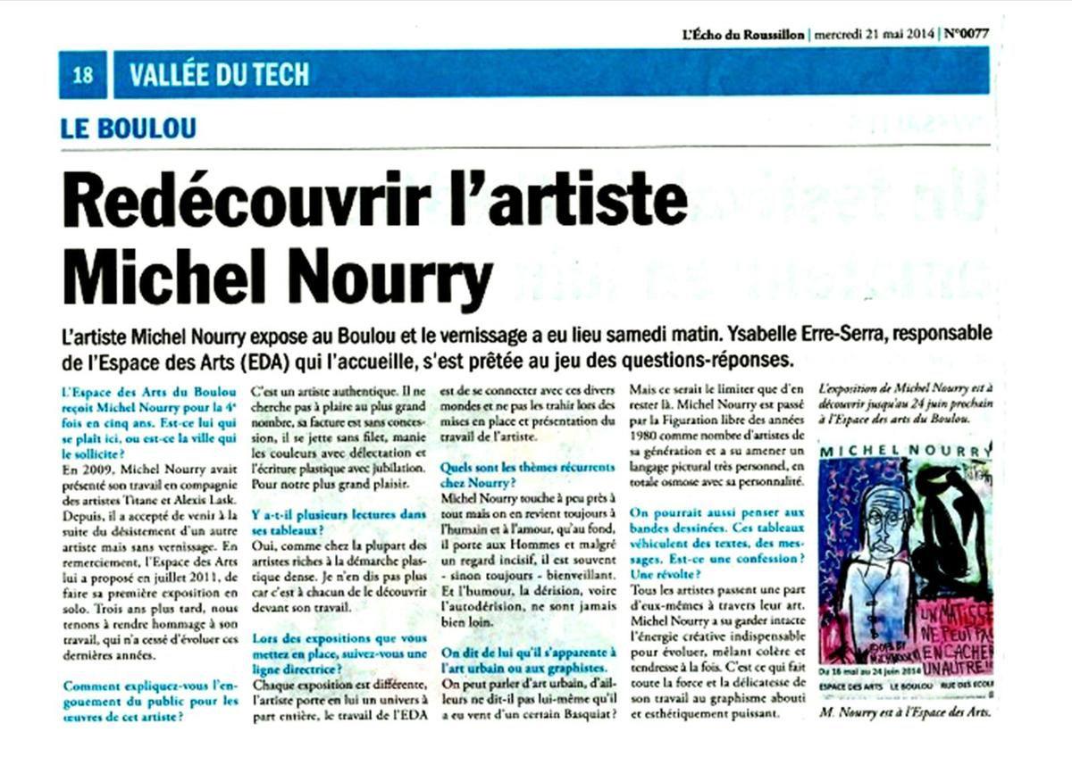 Michel Nourry nous a quittés en juin 2014