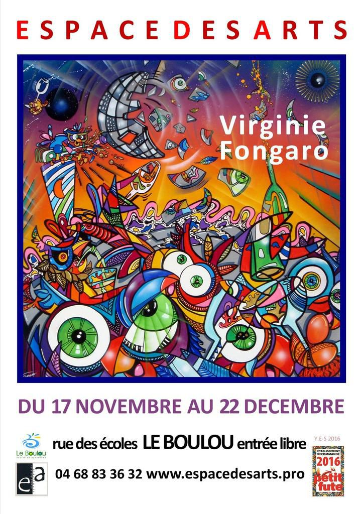 VERNISSAGE VENDREDI 25 NOVEMBRE 18H
