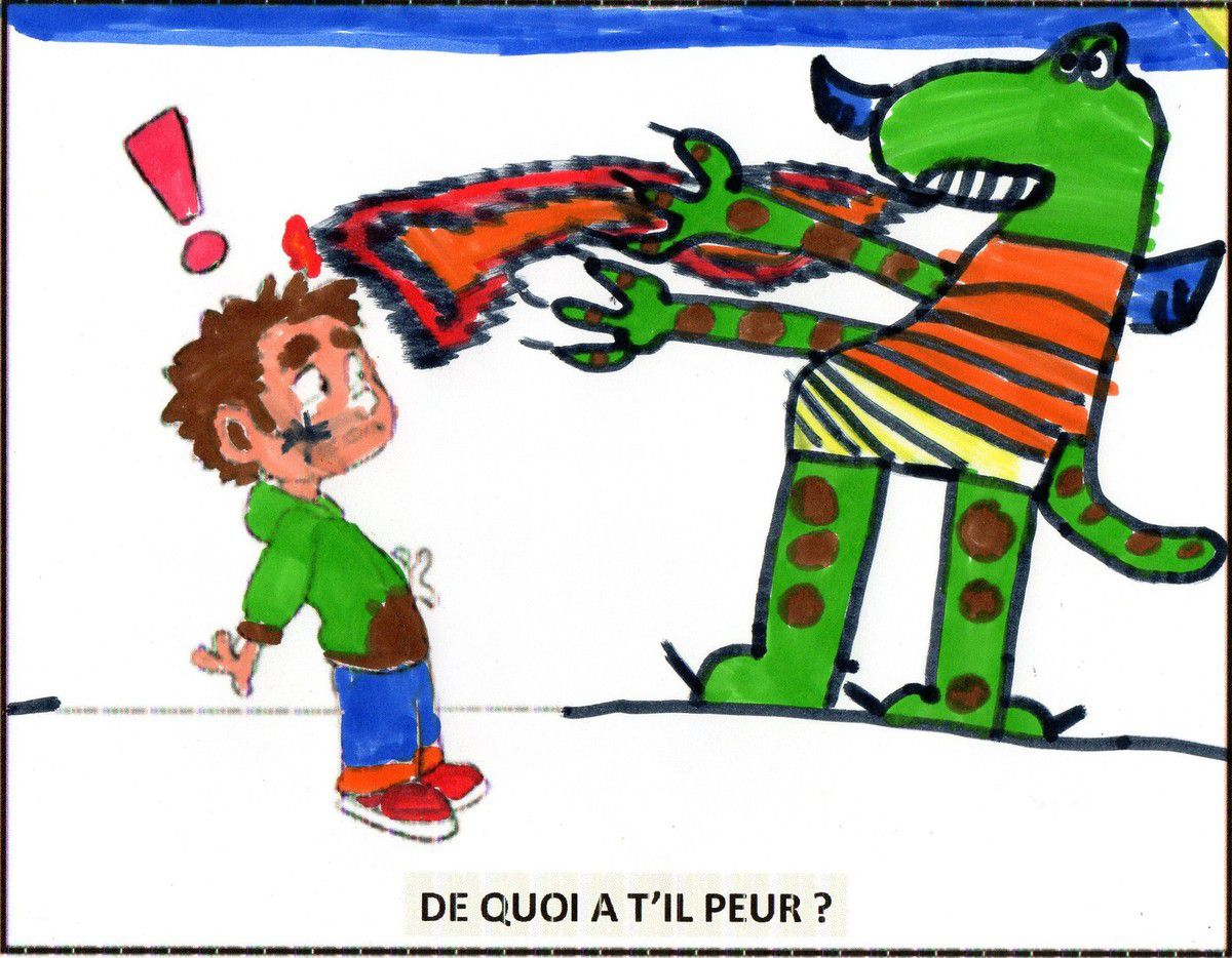 "ELIAS: ""le dragon cracheur de feu attaque"" !"