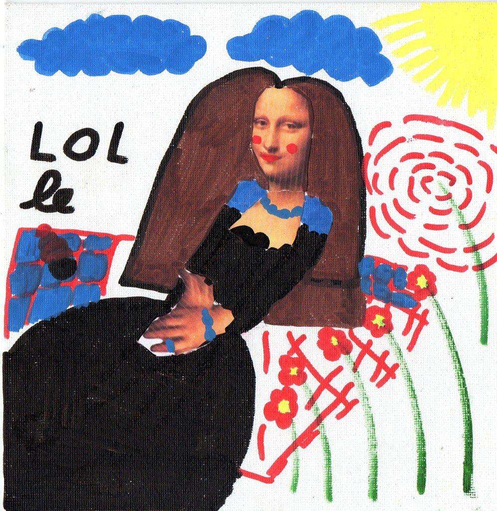 Mona Lisa fait une pause