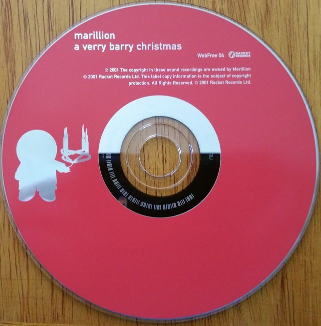 MARILLION - A very Barry Christmas - Ma Collection Perso