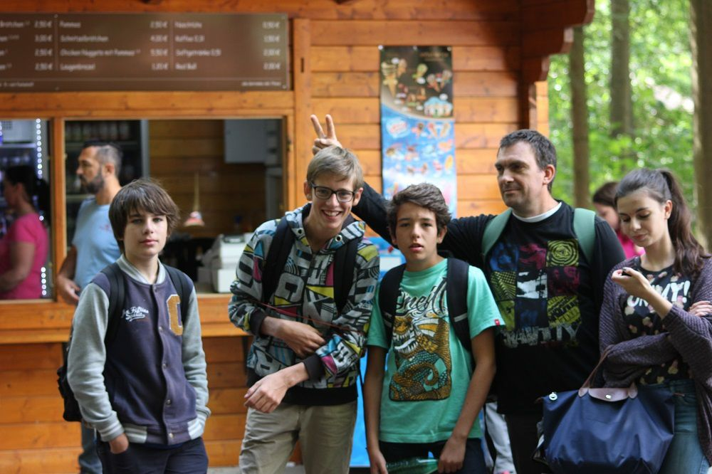 Camp d'été 2015 à Gross Bieberau