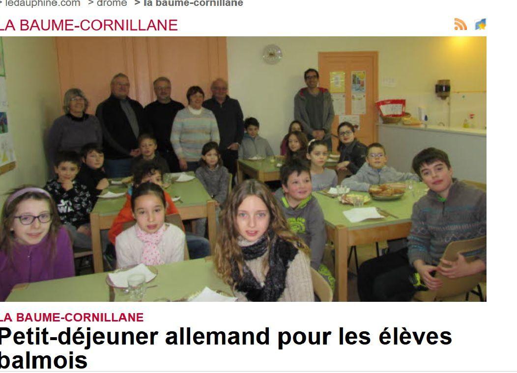 Dauphiné Libéré du 21 janvier 2017