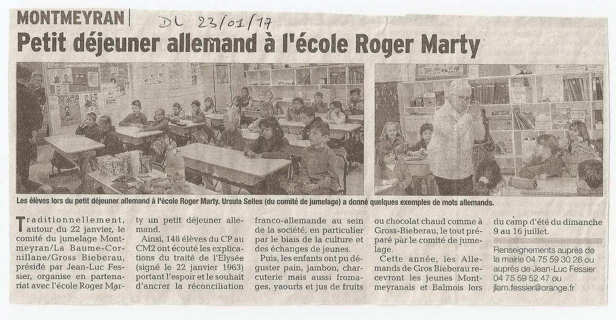 Montmeyran Article Dauphiné et Crestois