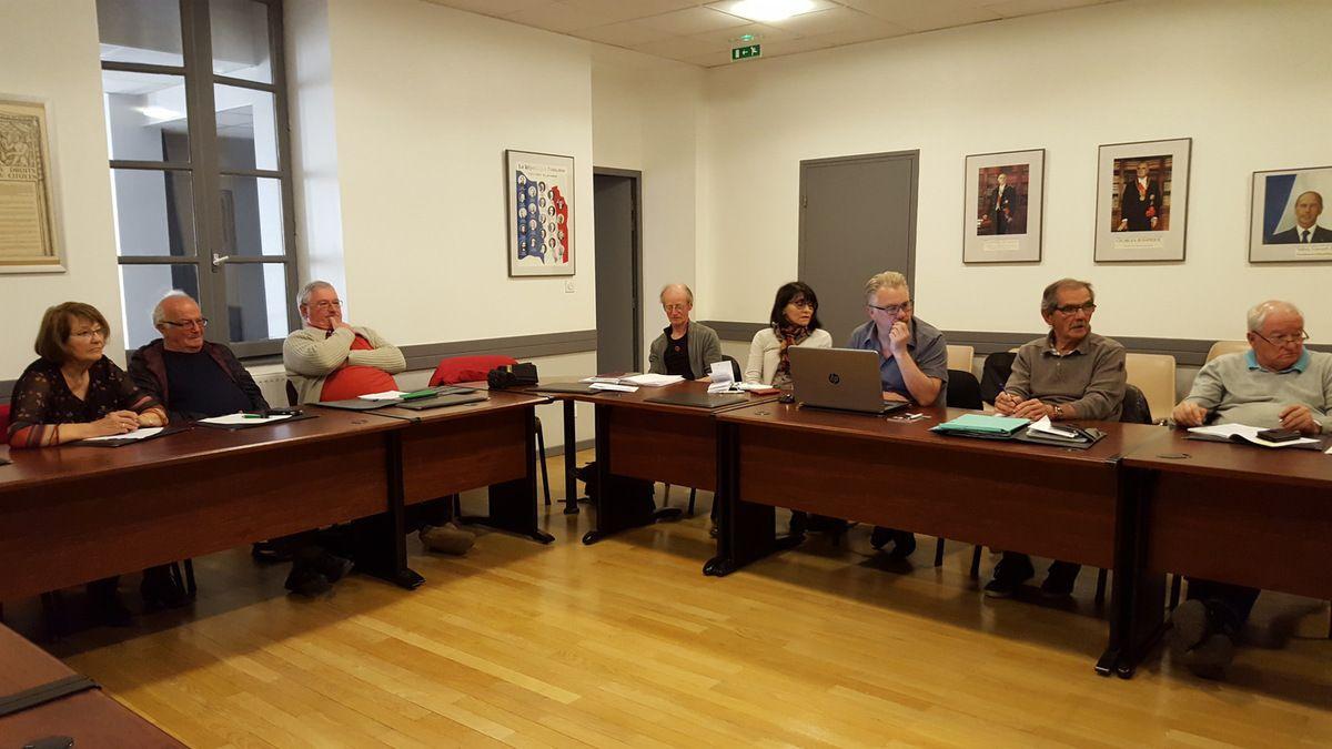 Conseil d'administration du 3 avril 2017