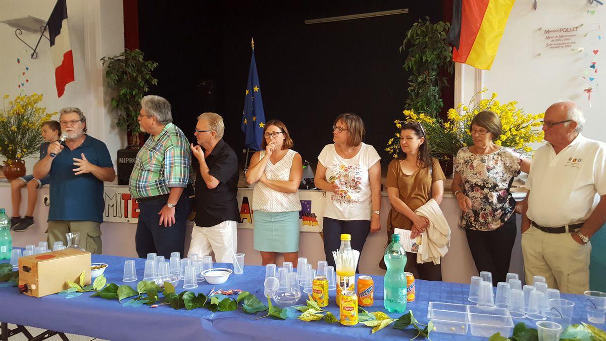Rencontre du 2 au 5 juin 2017 à Montmeyran  La Baume Cornillane