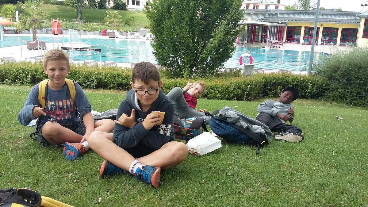 Camp d'été 2017 à Gross Bieberau