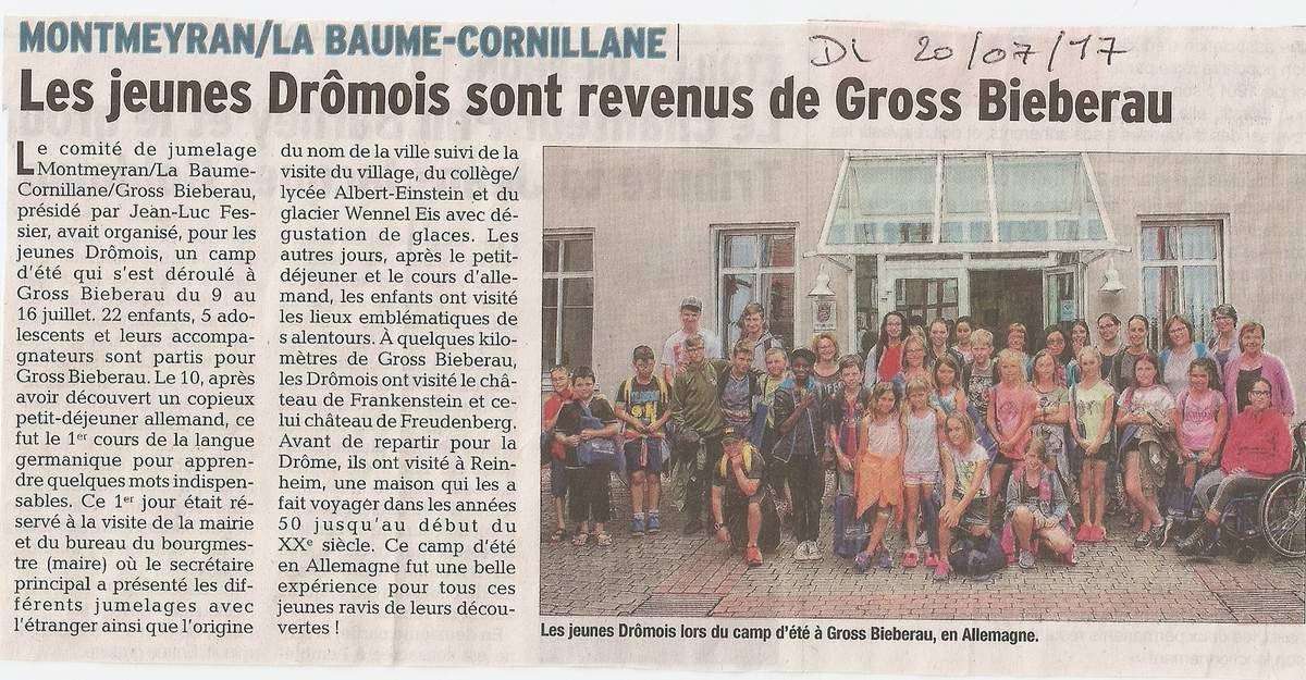 Presse française et allemande