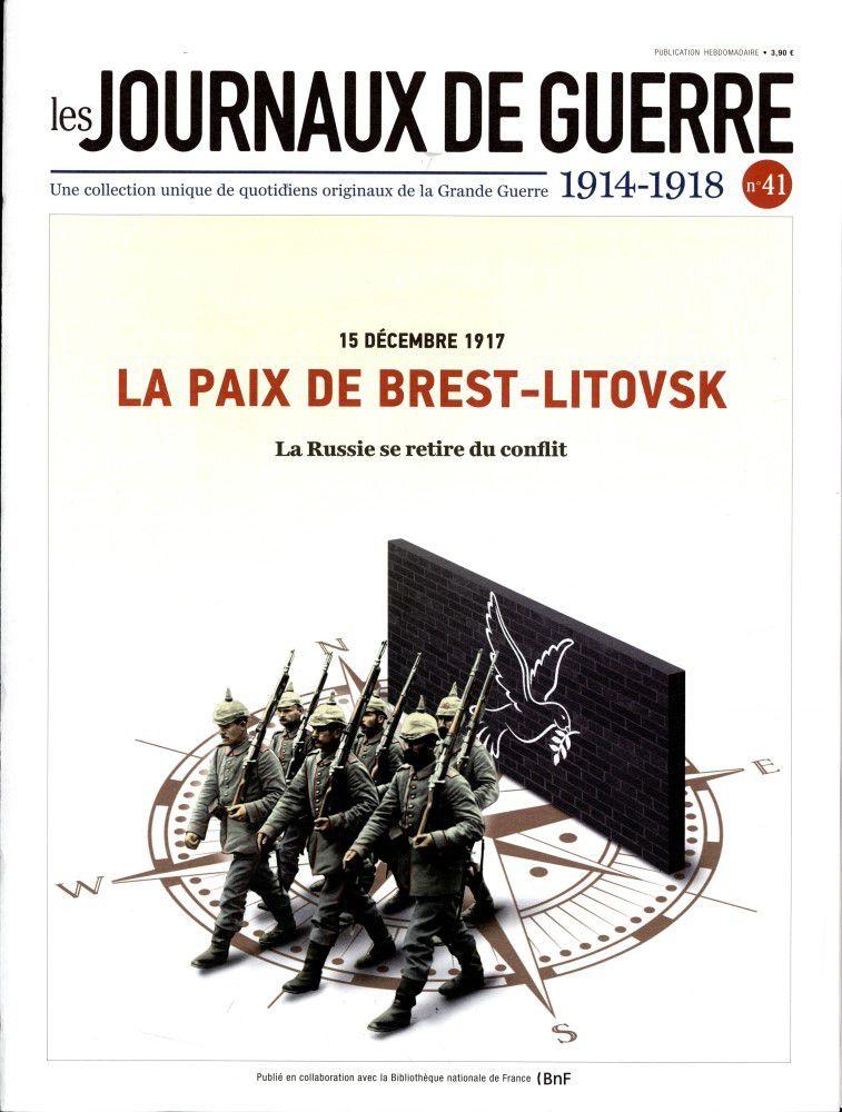 Collection journaux de guerre : le numéro 41