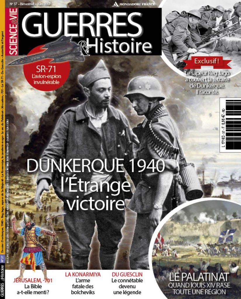 A la une de Guerres &amp&#x3B; Histoire n°37