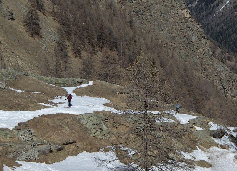 le pointillisme version ski de rando !