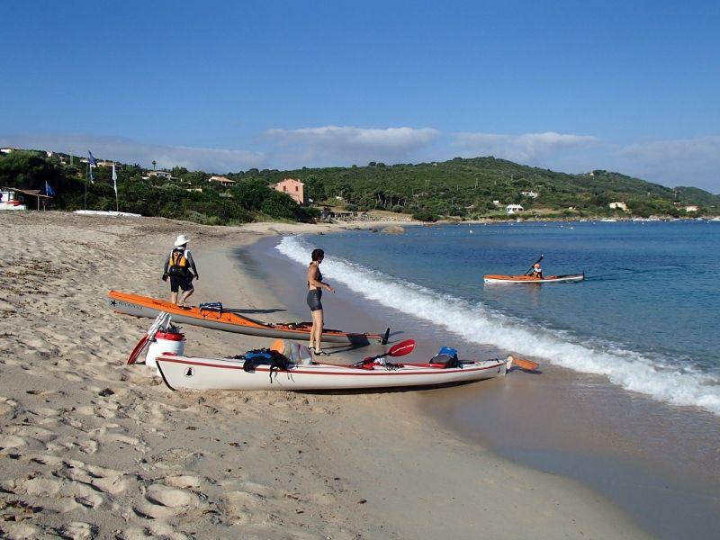 Apres plusieurs jours de patience ,mise à l'eau à Campomoro... action!