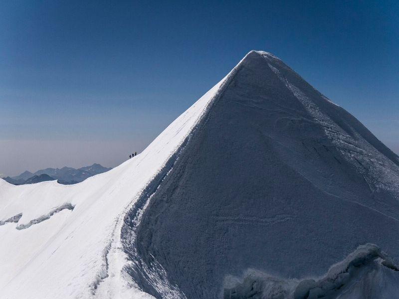 sommet du Castor.