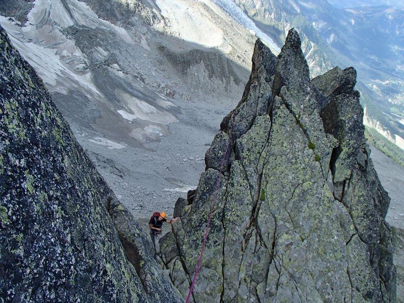 Découverte pour Bérengère de la notion d'itinéraire ... Ne pas toujours suivre la corde !