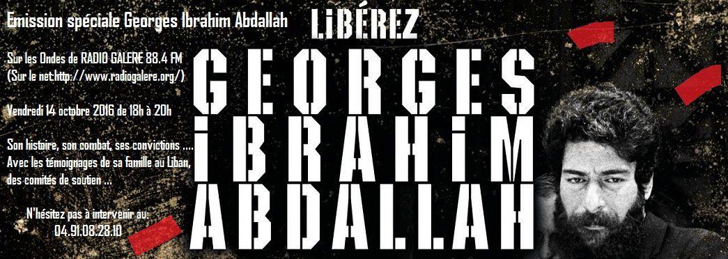 Retour sur une émission radiophonique marseillaise consacrée à Georges Abdallah : intervention de Robert Abdallah.