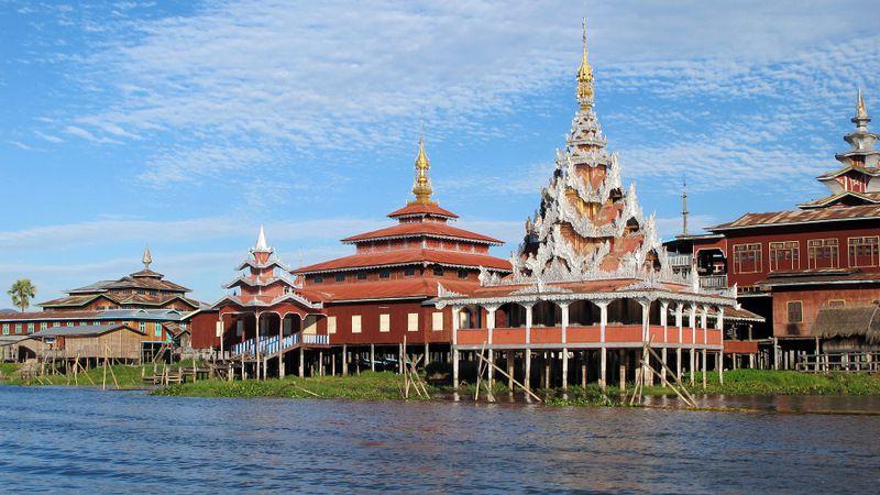 Birmanie - teinture