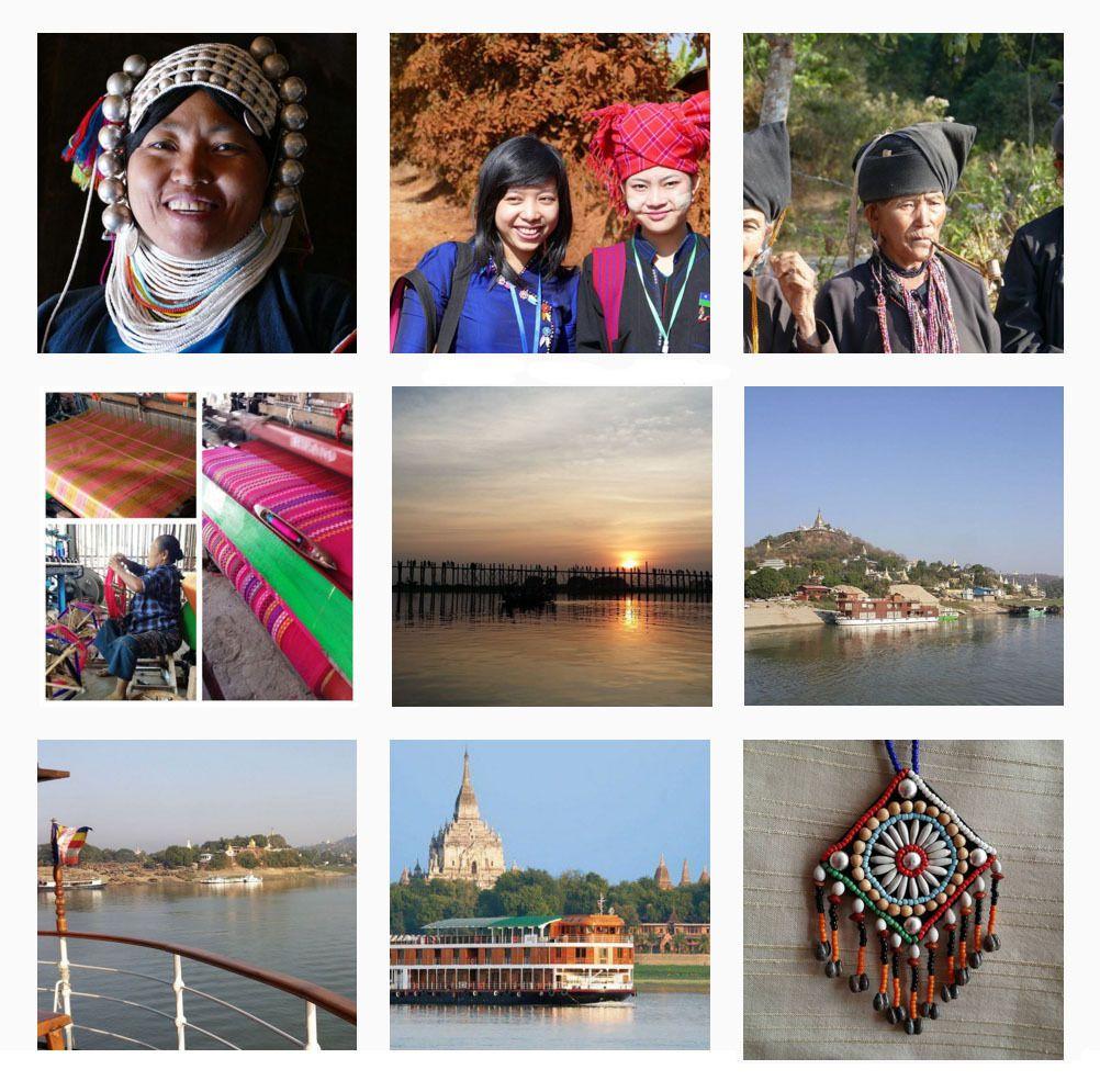 Birmanie -  échantillons