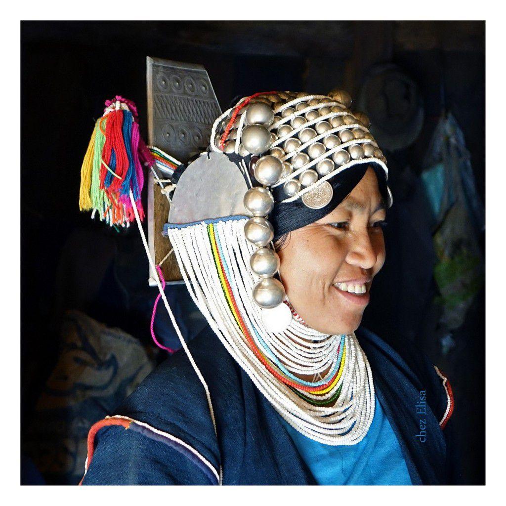 Birmanie - parures ethniques