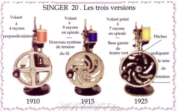 SINGER machines miniatures