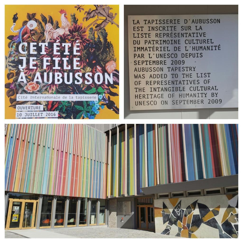 Aubusson et son nouveau musée de la tapisserie